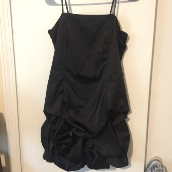 City Triangles Dresses & Skirts - Sexy Black Formal Strapless Cocktail bubble skirt